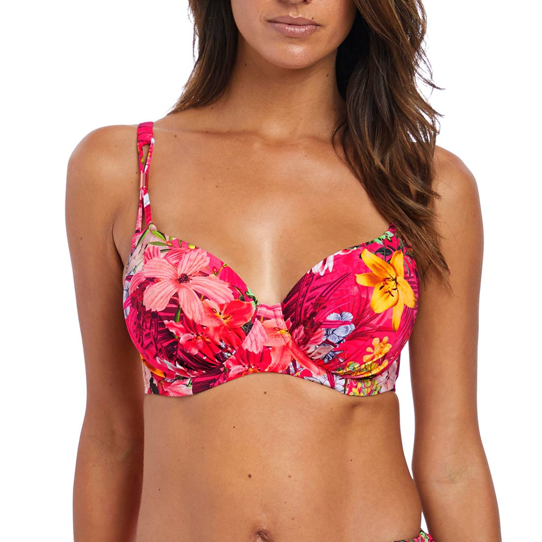 Anguilla UW Gathered Full Cup Bikini Top